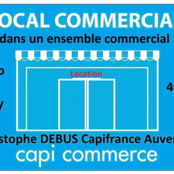 Location Local commercial Vichy 40 m²