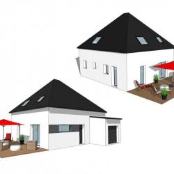 Maison  4 pièces + Terrain  450 m² Locmaria-Grand-Champ