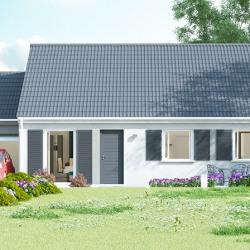 Maison  4 pièces + Terrain  662 m² Brenouille