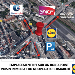 Location Bureau Saint-Quentin 170 m²