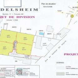 Vente Terrain Blodelsheim 0 m²