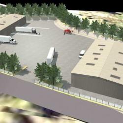 Location Local d'activités Boulbon 2100 m²