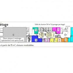 Location Bureau Orléans 15 m²