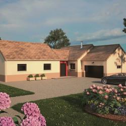 Maison  5 pièces + Terrain  623 m² Longecourt-Lès-Culêtre