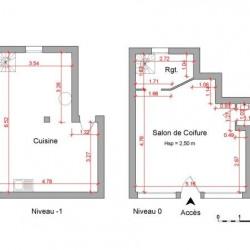 Location Local commercial Pont-Saint-Vincent 51 m²