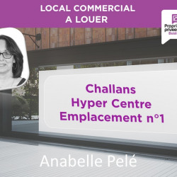 Location Local commercial Challans (85300)