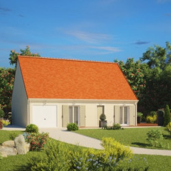 Maison  3 pièces + Terrain  641 m² Loury