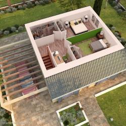 Maison  4 pièces + Terrain  210 m² Les Ponts-de-Cé