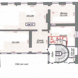 Location Bureau Paris 4ème 116,4 m²