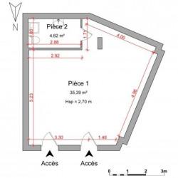 Location Local commercial Guilherand-Granges 40 m²