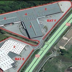 Location Entrepôt La Verpillière 21740 m²