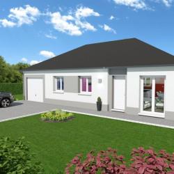 Maison  4 pièces + Terrain  856 m² Étalondes