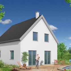 Maison  5 pièces + Terrain  466 m² Gries