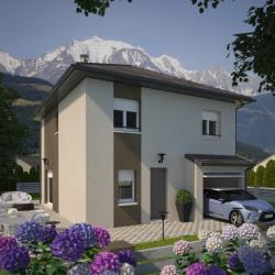 Maison  6 pièces + Terrain  470 m² Saint-Etienne-de-Cuines