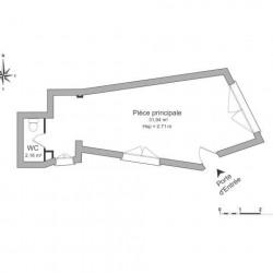 Location Local commercial Avignon 34 m²