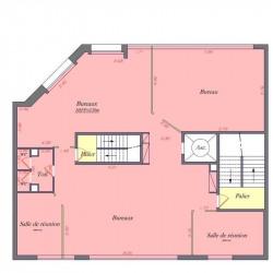 Location Bureau Levallois-Perret 914 m²