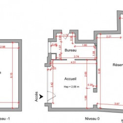 Location Local commercial Rueil-Malmaison 58 m²