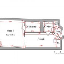 Location Local commercial Montauban 47 m²