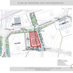Location Entrepôt Buchelay 3825 m²