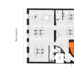 Location Bureau Paris 9ème 235 m²