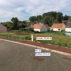 Vente Terrain Noyon 513 m²
