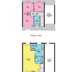 Maison  4 pièces + Terrain  471 m² Bernes-sur-Oise