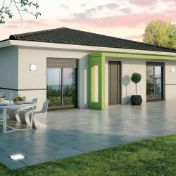 Maison  4 pièces + Terrain  600 m² Villegouge