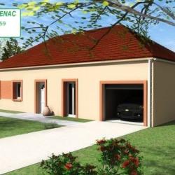 Maison  4 pièces + Terrain  900 m² Avallon