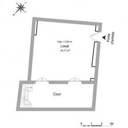 Location Local commercial Bordeaux 34 m²
