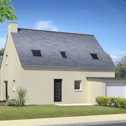 Maison  6 pièces + Terrain   m² Cleden-Poher