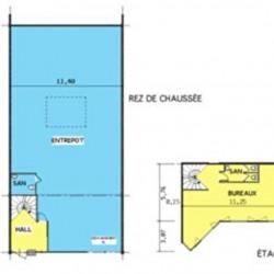 Location Entrepôt Créteil 344 m²