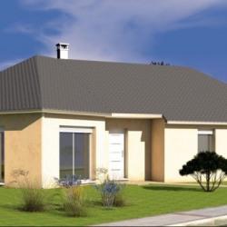 Maison  4 pièces + Terrain  500 m² Rieutort-de-Randon