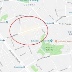 Location Local commercial Paris 20ème 50 m²