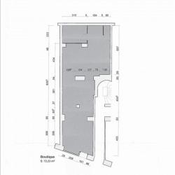 Location Local commercial Paris 19ème 72,23 m²