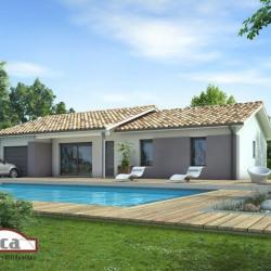 Maison  3 pièces + Terrain  1000 m² Uchacq-et-Parentis