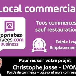 Cession de bail Local commercial Lyon 6ème 35 m²