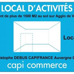 Location Entrepôt Vichy 1500 m²