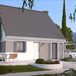 Maison  2 pièces + Terrain  340 m² Gagny