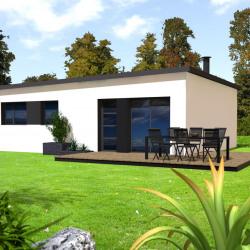 Maison  5 pièces + Terrain  1000 m² Lanmeur