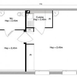 Vente Local commercial Escalquens 34,54 m²