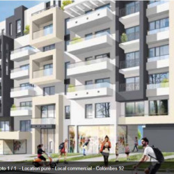 Location Local commercial Colombes (92700)