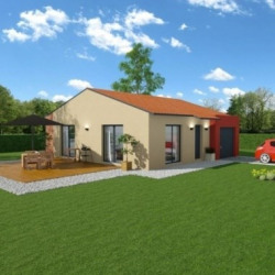 Maison  2 pièces + Terrain  1350 m² Linac
