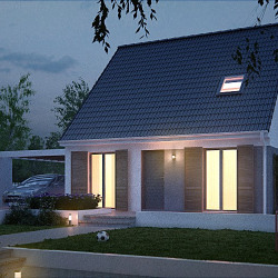 Maison  4 pièces + Terrain  639 m² Francourville