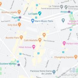 Location Local commercial Paris 9ème 20 m²