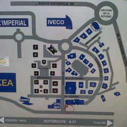 Location Bureau La Valette-du-Var 104 m²