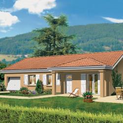 Maison  4 pièces + Terrain  1217 m² Saint-Bénigne