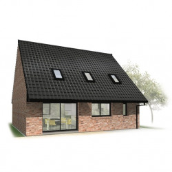 Maison  6 pièces + Terrain  395 m² Douai