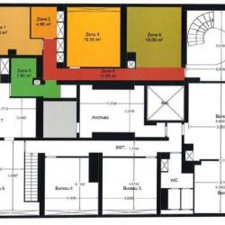 Location Bureau Paris 12ème 1245 m²