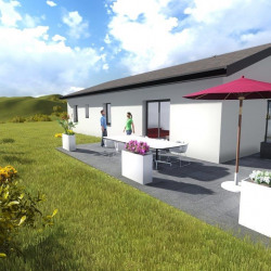 Maison  3 pièces + Terrain  540 m² Roanne