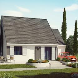 Maison  2 pièces + Terrain  309 m² Le Mans